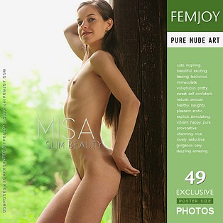 Slim Beauty : Misa from FemJoy, 15 Jan 2007